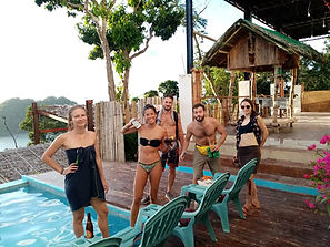 Lexias hostel el nido friends always together