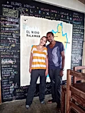 Lexias hostel el nido what a couple