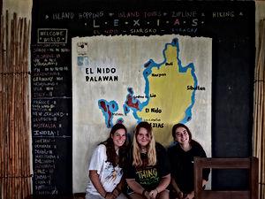 Lexias hostel el nido trio friends