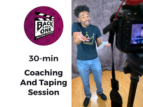 30 Min Coaching & Taping Session