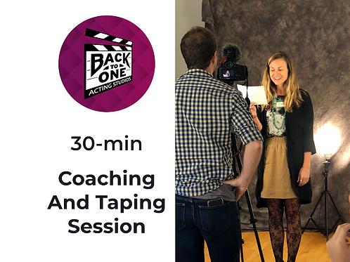 30 Min Coaching & Taping Session
