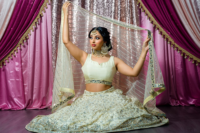 Pakistani Bridal Outfits - Hair and makeup Divine Glow Artistry