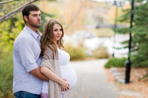 Couple Maternity Photo Session
