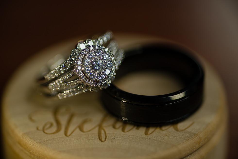 Stefanie and Tyler Rustic Barn Wedding in Rockyford Alberta - Wedding Ring