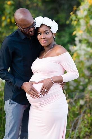 Drean Maternity Photo Session Couple