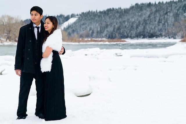 Dream Winter Wedding Anniversary Session