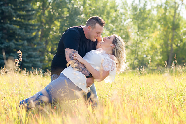 Engagement Session in the fields