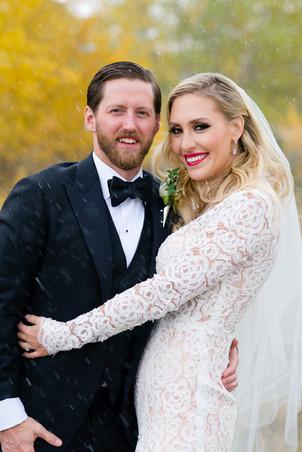 Monika and Ryan Fall Wedding in Calgary