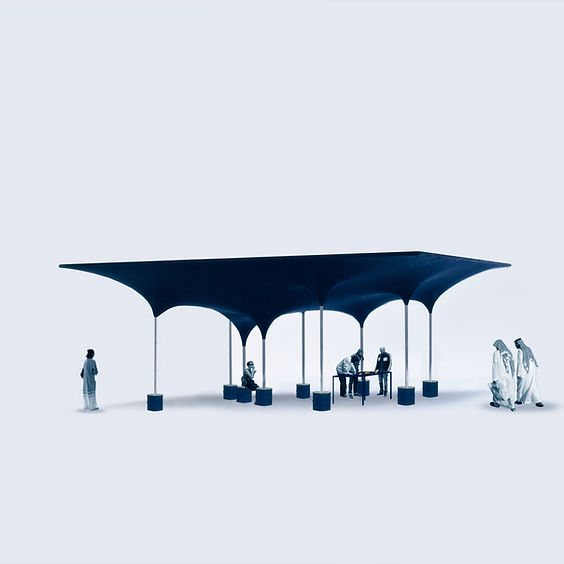 House of Hairs Pavilion - Saudi Design Week