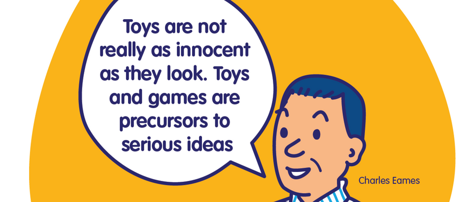 "TOYS - ""precursors to serious ideas"":  The Toys of Charles and Ray Eames"