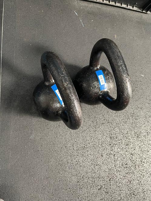 18 pound kettlebells - pair (2)