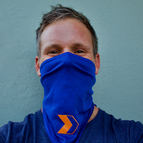 Poise Fitness Hermosa Beach Gym - COVID Scarf Mask (Front)