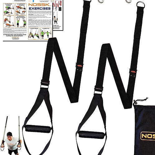 Suspension Trainer Straps & Wall Anchor