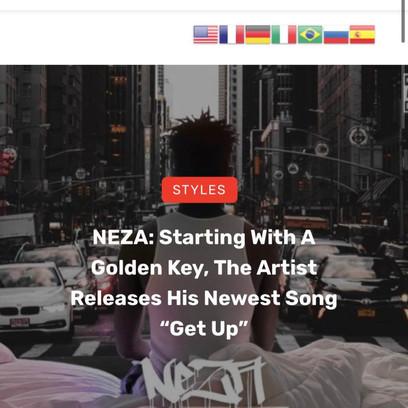 Get Up - Roadie Music Article
