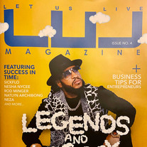 LUL MAGAZINE #4 LEGENDS & LEGACY