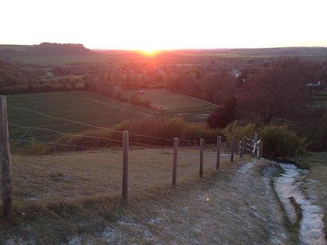 Path down sunset.JPG