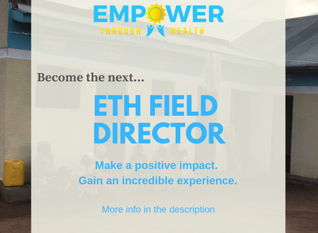 Become the Next ETH Field Director!