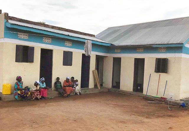 Patients waiting for treatment at the Mp
