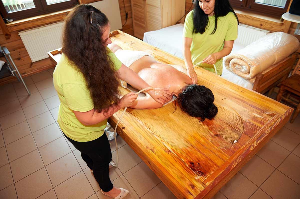 молочна процедура центр панчакарми