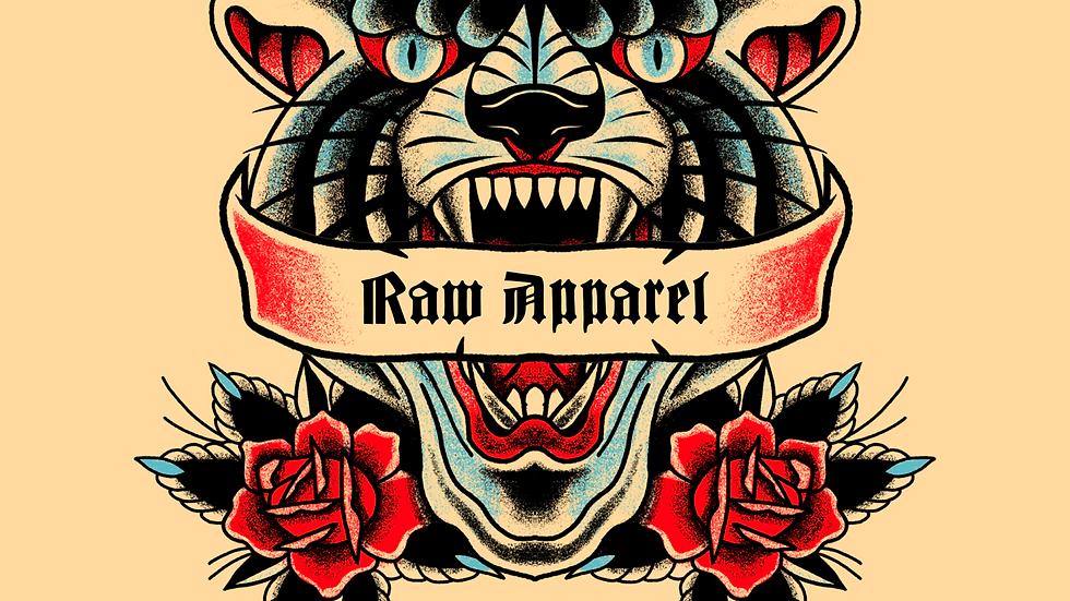 Raw Apparel stickers