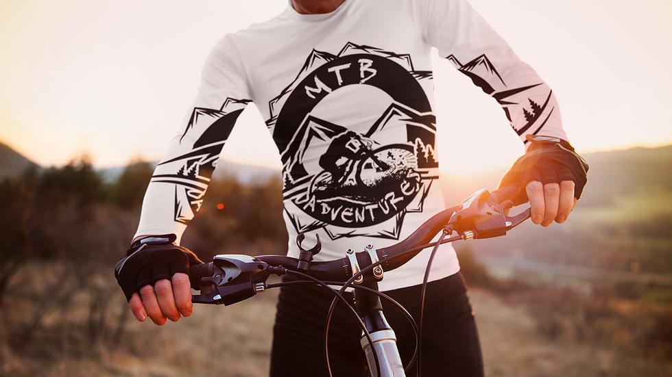 Men's long sleeve MTB-Adventures shirt/Sweater Hoodie XS/S/L/M/XL/2X/3X