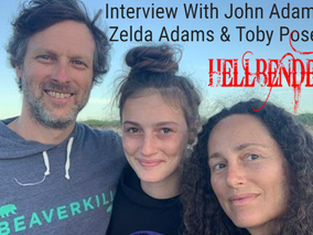 Hellbender Interview With John Adams, Toby Poser & Zelda Adams(Fantasia International Film Festival)