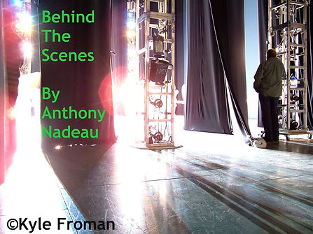 "©Kyle Froman, www.kylefromanphotography.com ""An offstage view of a performance, from IN THE WINGS: BEHIND THE SCENES AT THE NEW YORK CITY BALLET, by Kyle Froman."" Used by Permission (2013-2021)"