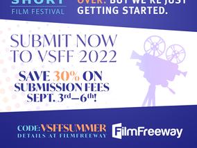 Press Release: Vancouver Short Film Festival - End of Summer Sale!
