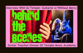 Interview With DJ Temple, Guitarist for Without Mercy From Abbotsford, BC(Updated)