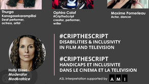 Women In Film & Television Bring Inclusion With #CripTheScript Webinar - January 28th, 2021