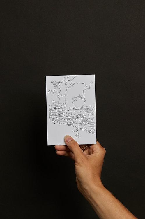 GELIEBTES ZÜRICH 1 POSTKARTENSET (5 Karten)