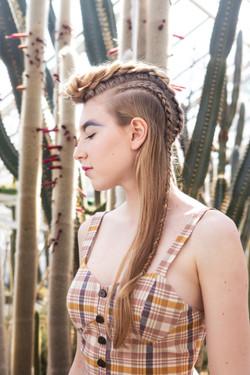 irokese braids