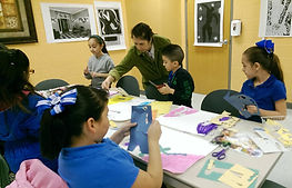 Art Education Outreac Program in McAllen, Texas