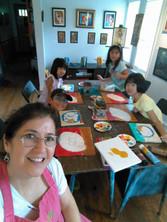 In the Art Studio