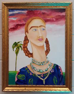 Frida in Blossom