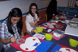 Art painting party for children and adults in McAllen, Texas