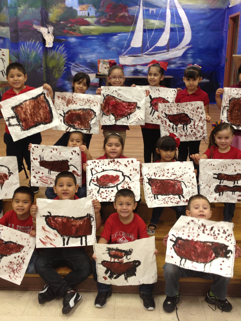 Outreach Group with Prehistoric Paintings