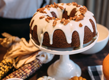Bourbon Cream Pumpkin Bundt Cake