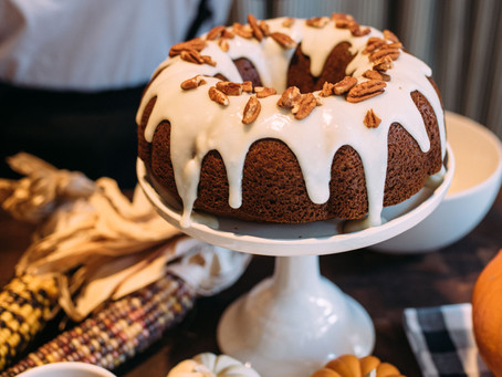 Bourbon Cream Pumpkin Bundt Cake