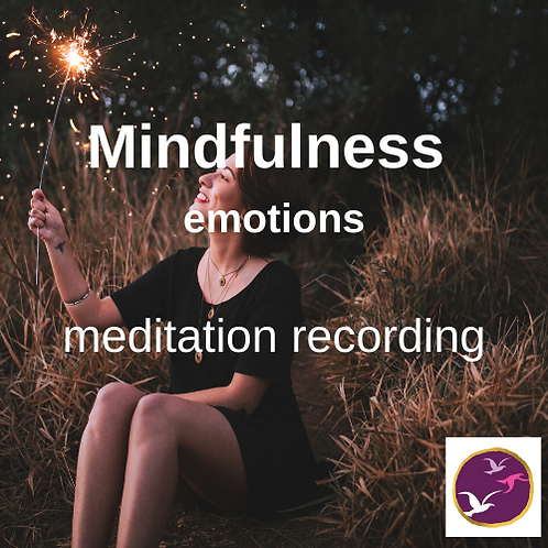 Mindfulness meditation - emotions
