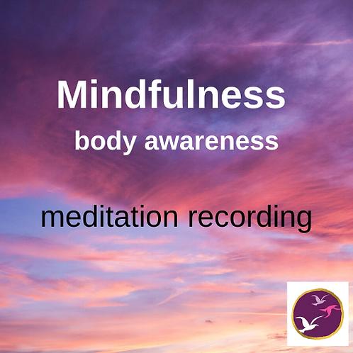 Mindfulness meditation - Body Awareness