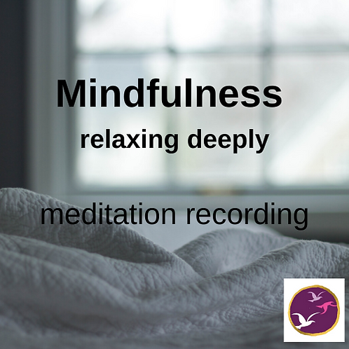 Mindfulness meditation - Relaxing Deeply