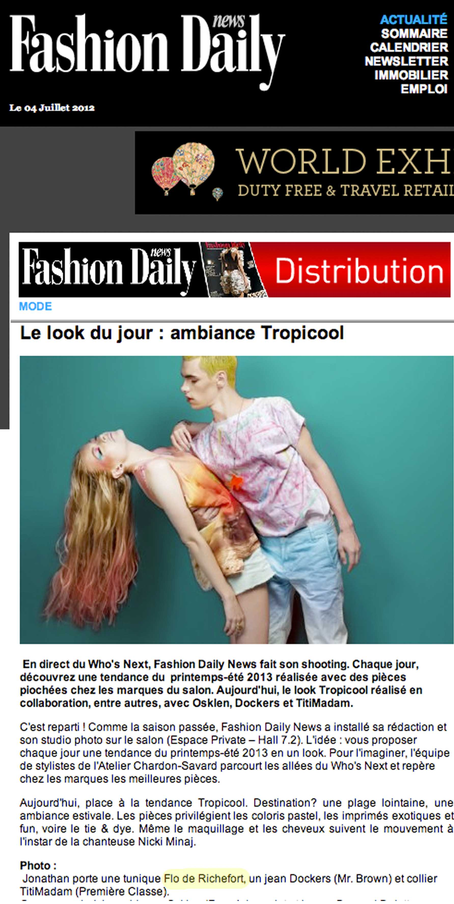 Fashion Daily News (France)