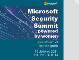 Microsoft Security Summit, powered by Women