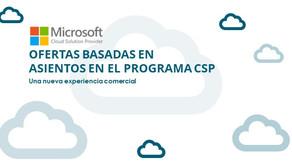 Ofertas en el programa CSP