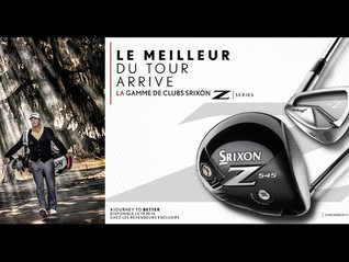 Lancement de la gamme SRIXON Z chez ACCROGOLF à partir du 15 Octobre 2014 en exclusivité