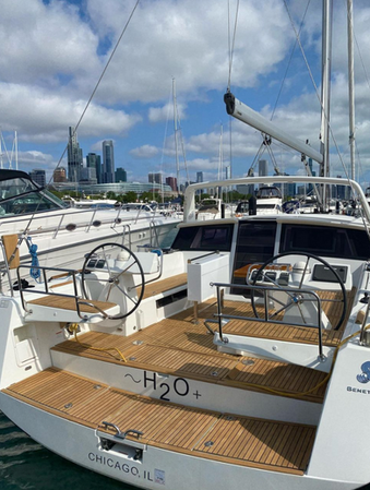 Elite Yacht Services Gold Standard Teak Service