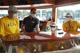 Elite Yacht Services XPEL PPF install MY SEANNA Lauderdale Marine Center