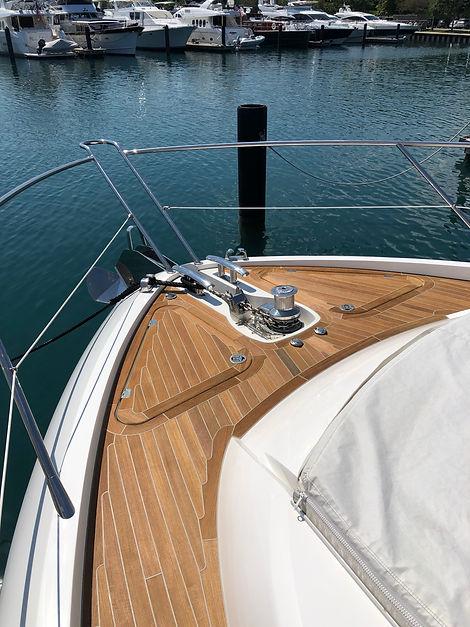 Elite Yacht Services Teak Repair Fort Lauderdale