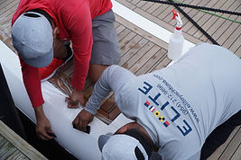 Elite Yacht Services exterior surface protection Fort Lauderdale